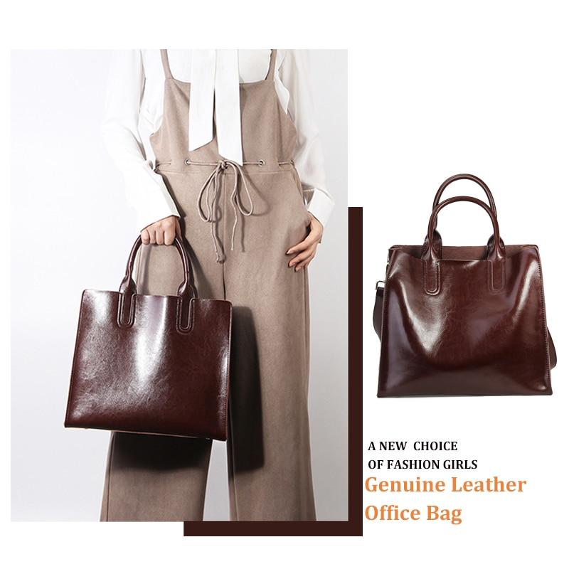 bags female genuine leather 2019 luxury handbags women bag designer Classic women s bag Real Leather