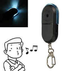 Новое поступление беспроводной анти-потерянный будильник ключ искатель локатор свисток Звук светодио дный светодиодный брелок