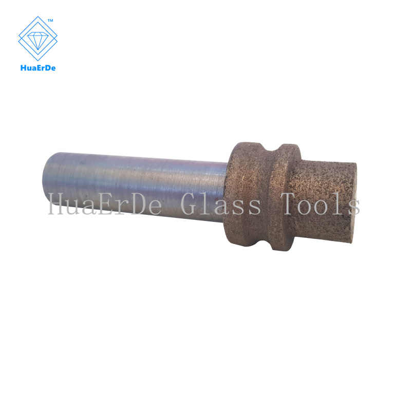Bronze sintered Diamond glass mould Straight shank grinding head wheel Glass Abrasive Tools