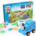 151 pcs Electric Motor De Tanque de Thomas e Amigos Trens Novos Conjuntos Modelo de Blocos de Construção Tijolos de Brinquedo Ferroviária Meninos Crianças Montagem brinquedos