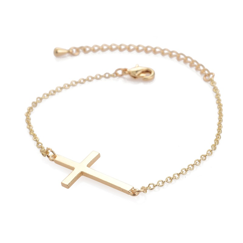 New fashion jewelry Unique Sexy cross Anklet Ankle Bracelet Barefoot Sandals Foot Jewelry Leg Chain On Foot For Women in Anklets from Jewelry Accessories