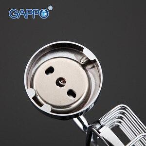 Image 3 - GAPPO 1เซ็ตที่มีคุณภาพสูงผนังmoutห้องน้ำจานสบู่สแตนเลสห้องน้ำสบู่ตะกร้ากล่องสบู่ที่วางจานGA1802 1