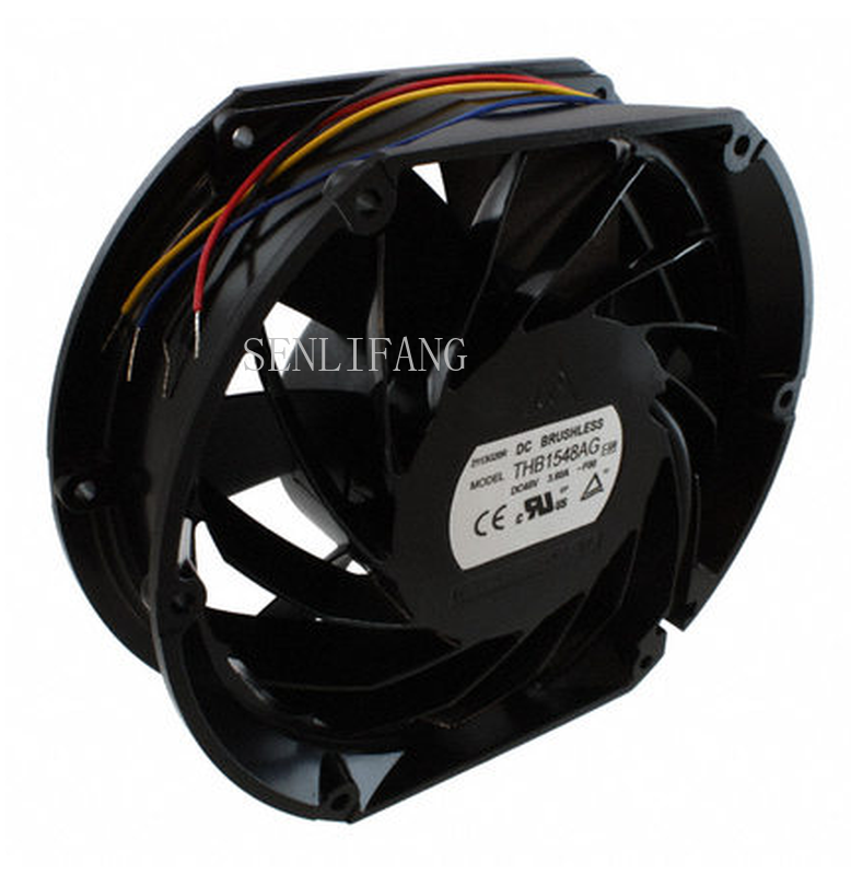 Free Shipping Original Brand And New THB1548AG FAN AXIAL 172X50.8MM 3.6A 48VDC WIRE