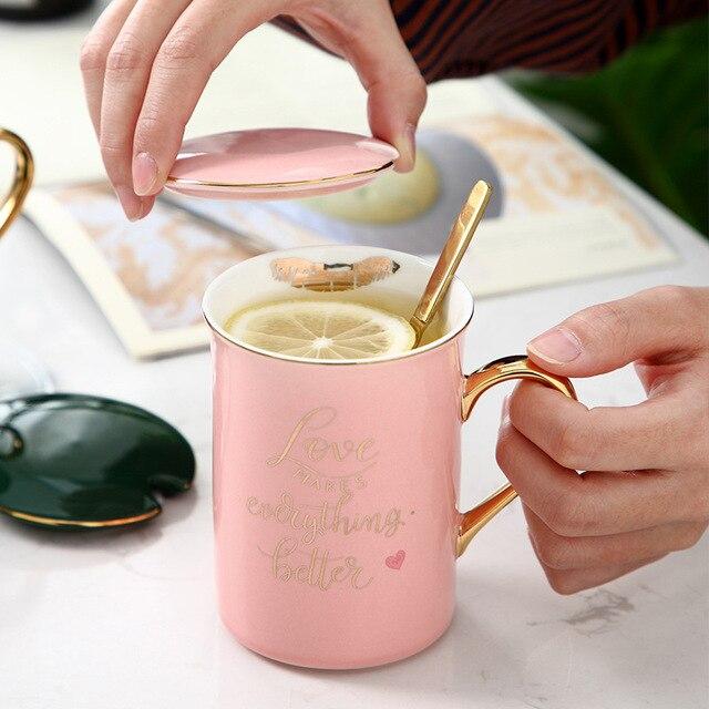 Royal Ceramic Coffee Mug Birthdays Coffee Mugs cb5feb1b7314637725a2e7: Green KISS full gold|Green KISS gold line|Green LOVE full gold|Green LOVE gold line|Pink KISS full gold|Pink KISS gold line|Pink LOVE full gold|Pink LOVE gold line