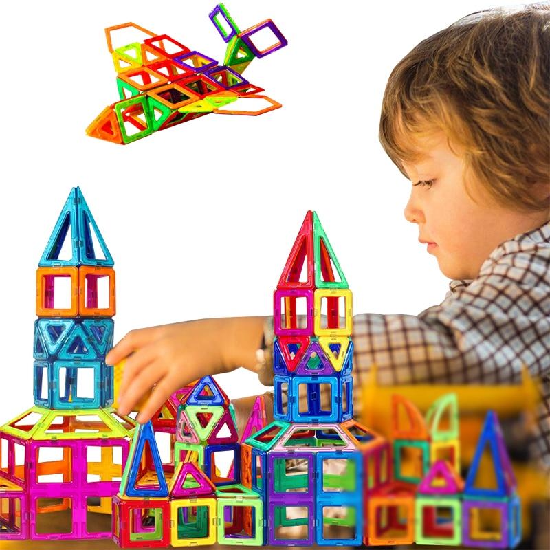 Mini 268Pcs/Set Models & Building Toy Magnetic Designer Educational Building Blocks Plastic Assemble Enlighten Bricks Kids Toys zhenduo 56pcs different magnetic designer educational building blocks plastic assemble enlighten gift toys for children with box