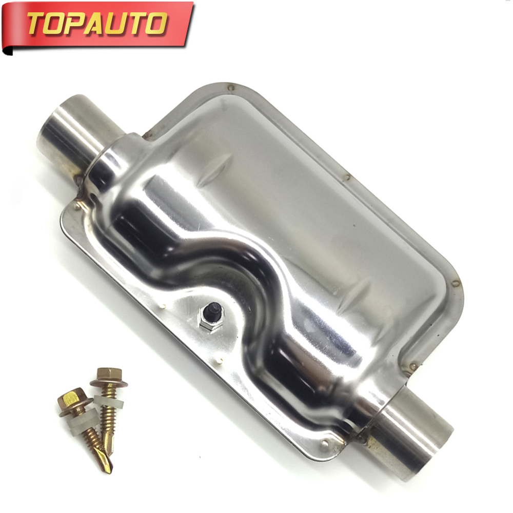 24mm Stainless Steel Exhaust Silencer Muffler For Air Diesel Car Parking Heater