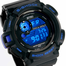 Skmei Fashion Men's Watch Casual Sport digital-watch Luxury Brand LED wristwatches Mans relogio masculino Watches Men Clock