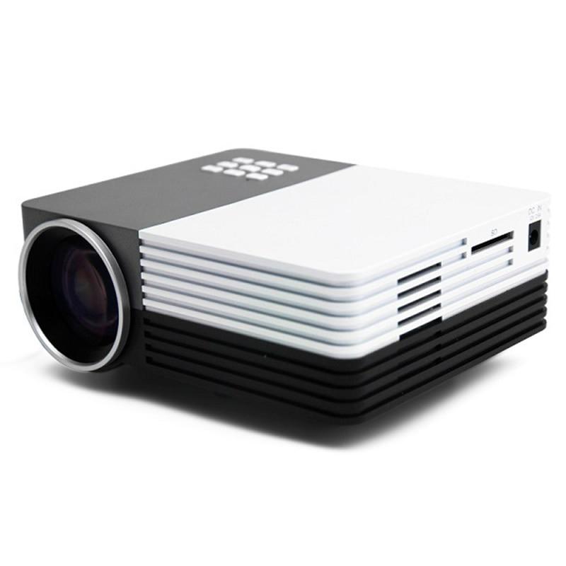 ФОТО New Portable Mini Led Digital Projector GM50 800Lumens Home Theater Cinema Beamer Projektor For Video Games Movie HDMI VGA USB
