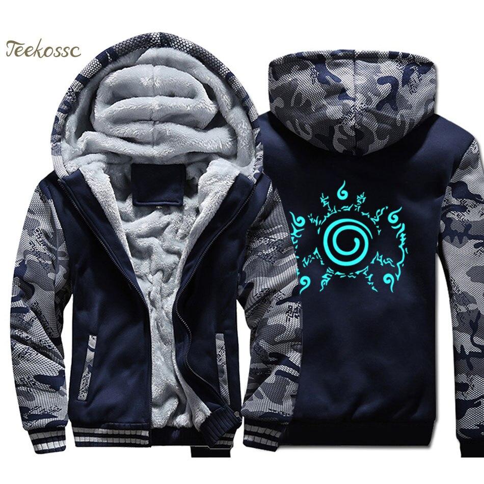 Men's Clothing One Piece Luffy Naruto Hoodies Women Men Streetwear Hip Hop Sweatshirt Fleece Warm Hooded Coat Autumn Winter Tracksuit Price Remains Stable