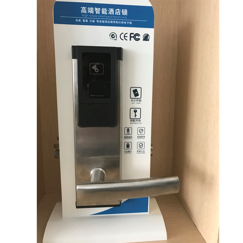 Italian Door Locks RFID Digital Key Card Door Lock System With Stainless  Steel Panel/handle For Hotel In Electric Lock From Security U0026 Protection On  ...