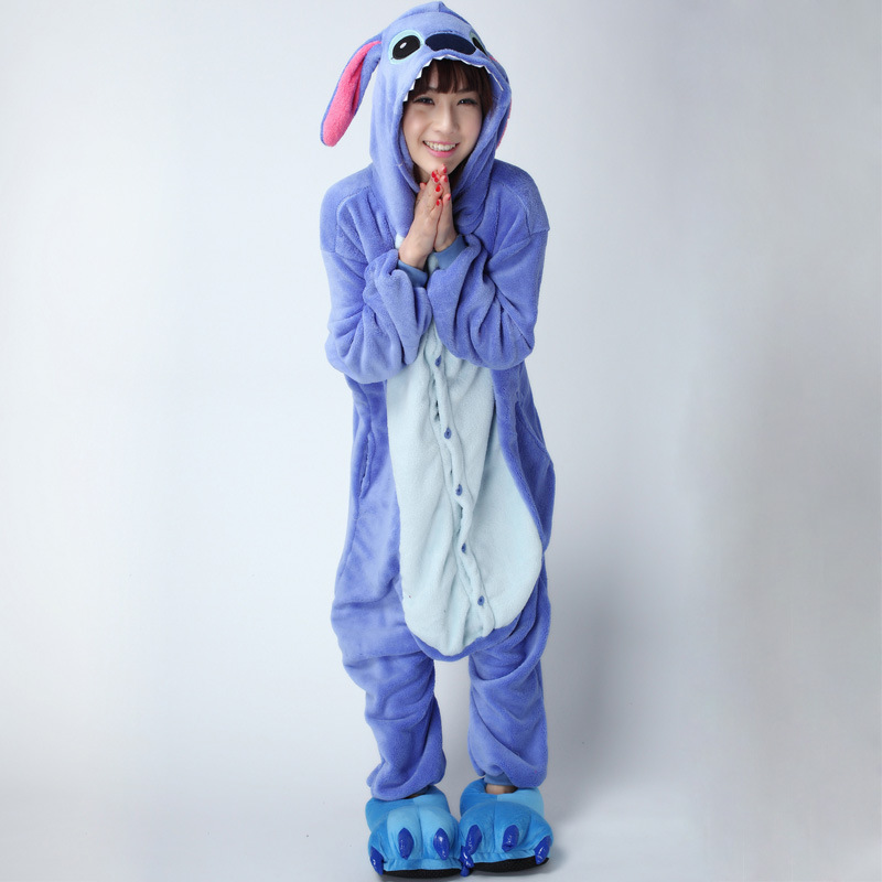 stitch adult kigurumi pajamas