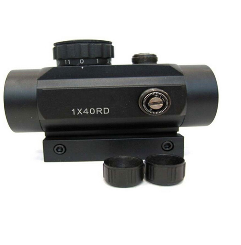 Image 3 - 11mm 20mm Rail Holographic Riflescope Hunting Optics Red Dot Sight Tactical Scope Crossbow Riflescope Tactical Shot GunRiflescopes   -