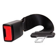 2Pcs Universal 14 Car Seat Seatbelt Safety Belt Extender Extension 7/8 Buckle
