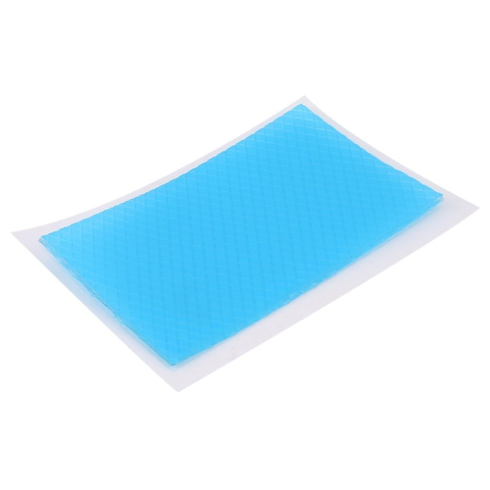 4.5x7.5cm Silicone Removal Patch Reusable Acne Gel Scar Therapy Silicon Patch Remove Trauma Burn Sheet Skin Repair Blue Color