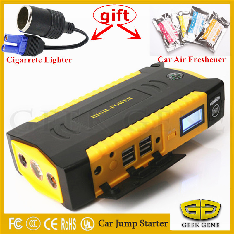 Best Car Jump Starter Portable Starting Device Power Bank Mobile 600A Car Charger For Car Battery Booster Petrol Diesel Buster 2017 starting device car jump starter 800a pack portable car starter power bank charger for car battery booster petrol diesel ce