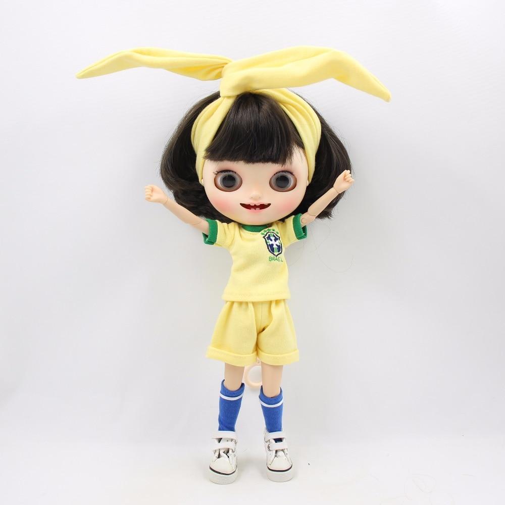 Neo Blythe Doll Brasil Football Team Uniform 6