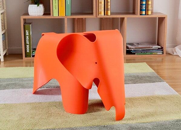 Bambini sedia elefante baby elephant di plastica sedia giocattolo