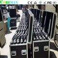 Полет caseabin 6 шт. шкафы led p5 открытый rgb дубай светодиодный экран силан rgb smd p3.75 матричный светодиодный модуль