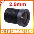 2.5 мм 130 Степень Широкоугольный Объектив CCTV Исправлена CCTV Камеры ИК Совета Безопасности Объектив M12
