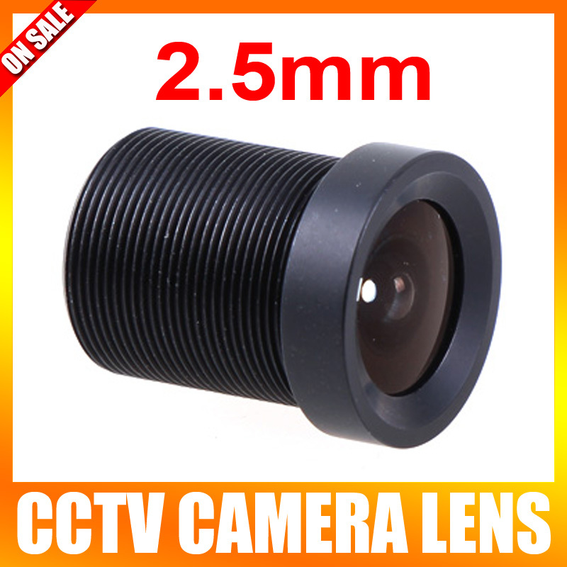 2.5mm 130 Degree Wide Angle CCTV Lens Fixed CCTV Camera IR Board Security Lens M12(China (Mainland))
