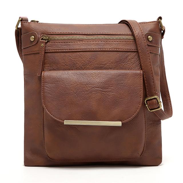 Nova Liquidação Bolsas estilo mensageiro femininas bolsas de mão de couro feminina bolsas traspassadas bolsa de ombro bolsas estilo pu de couro bolsas femininas