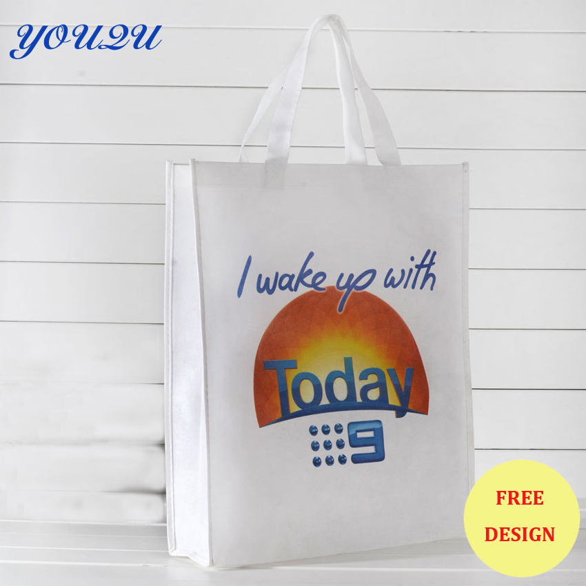 Hot sell Customize shopping bag Non woven Shopping Bag with high quality+escrow accept