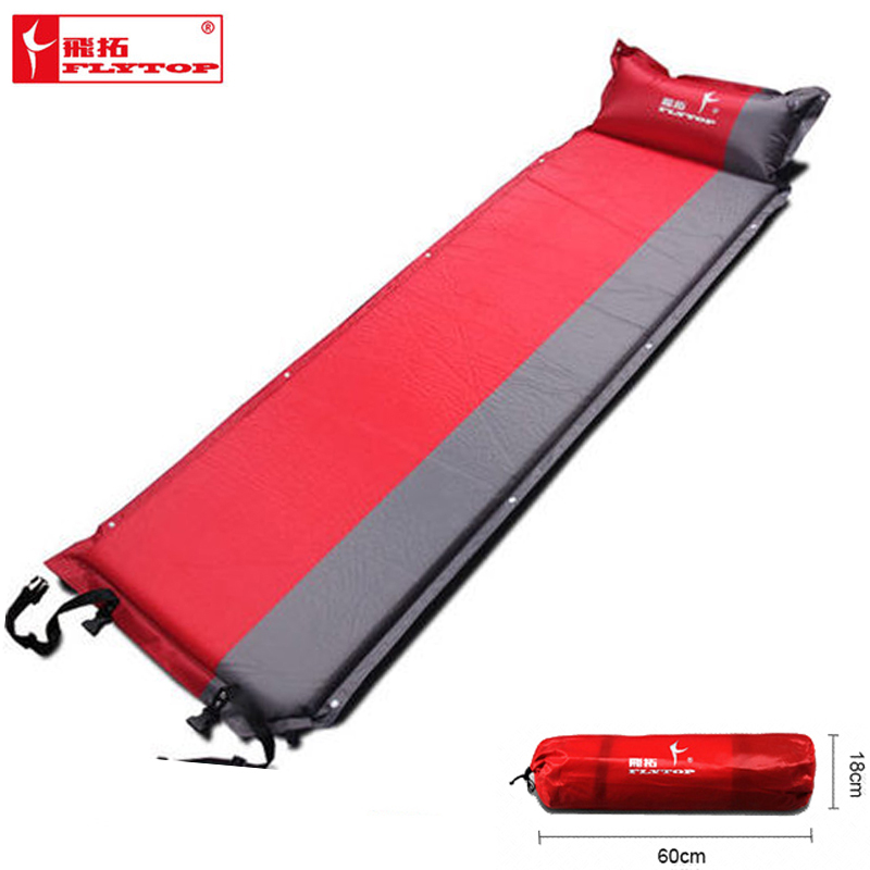 Moisture proof Camping Sleeping Pad Self Inflating Inflatable Air Mat Pad With Pillow Portable For Outdoor