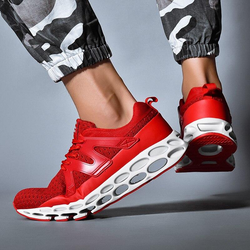 Sólidos Sapatas Homens Básicos Outono Sapatos Casuais red Das Dos Primavera Flats Sapatilhas Black white zzfqBt