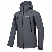 Men's Winter Softshell Fleece Jackets Outdoor Sportswear Coat Hiking Trekking Camping Skiing Male Windbreaker Waterproof Mammoth