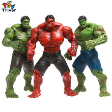 Red Hulk 10″ Action Figure The Avengers PVC Figure Toy Hands Adjusted Movie Lovers Collection Free Shipping Triver Toy