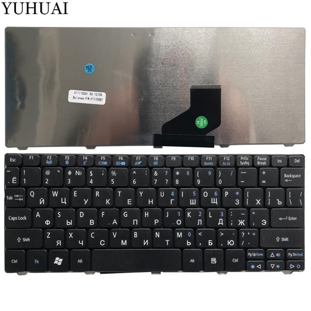 For Acer Aspire One D255 D260 D257 D270 D255E 522 AOD257 AOD260 AO521 AO532 AO533 532 532H 521 533 RU Russian Keyboard Laptop