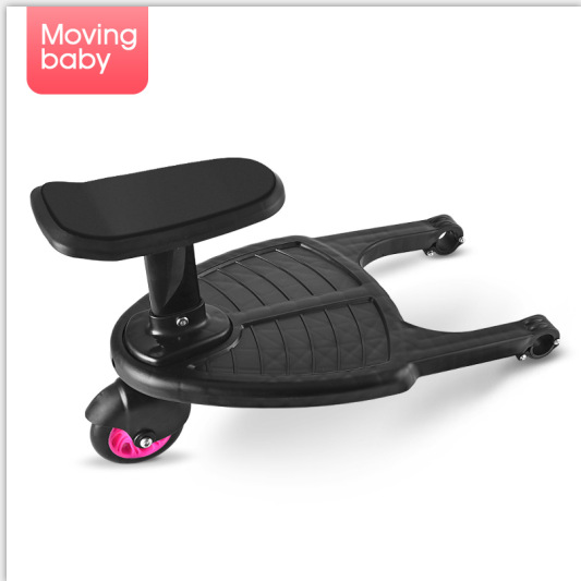 Baby stroller Trolley Auxiliary Pedal Plate two-child artifact double-sized baby wheelbarrow child-assisted pedal trip towingBaby stroller Trolley Auxiliary Pedal Plate two-child artifact double-sized baby wheelbarrow child-assisted pedal trip towing