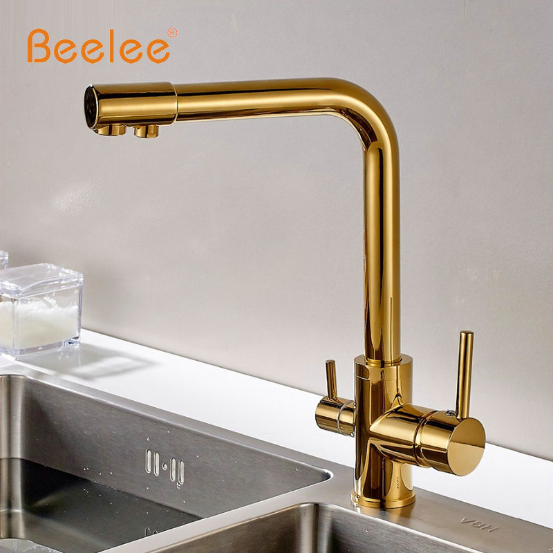 Beelee Kitchen Faucet Pull Out Deck Mounted Pull Swivel 360 Degree ...