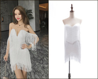 New 2019 European and American Fashion Summer Superior Customized Dresses and Dresses with V collar Sexy Open Chest and Back