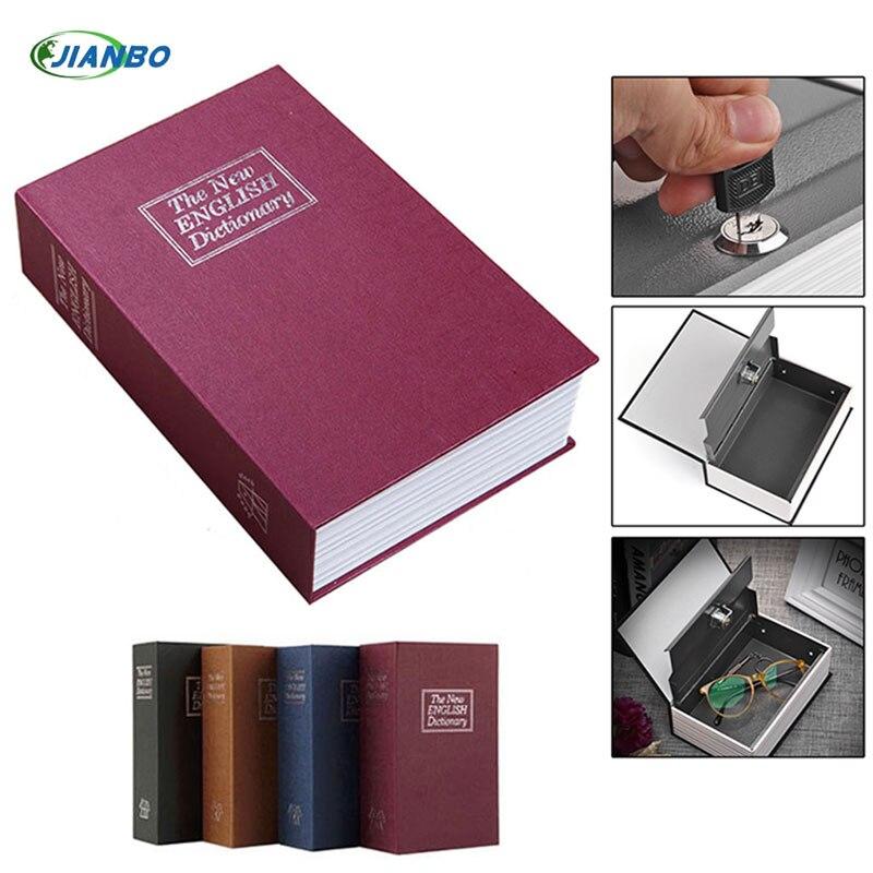 Factory direct simulation English dictionary safe mini-books money box storage box creativity Vault 180 * 115 * 55mm