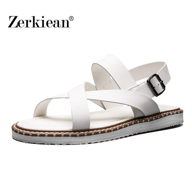 Summer Casual sandales plates loisirs fond mou ... xBeYzGft