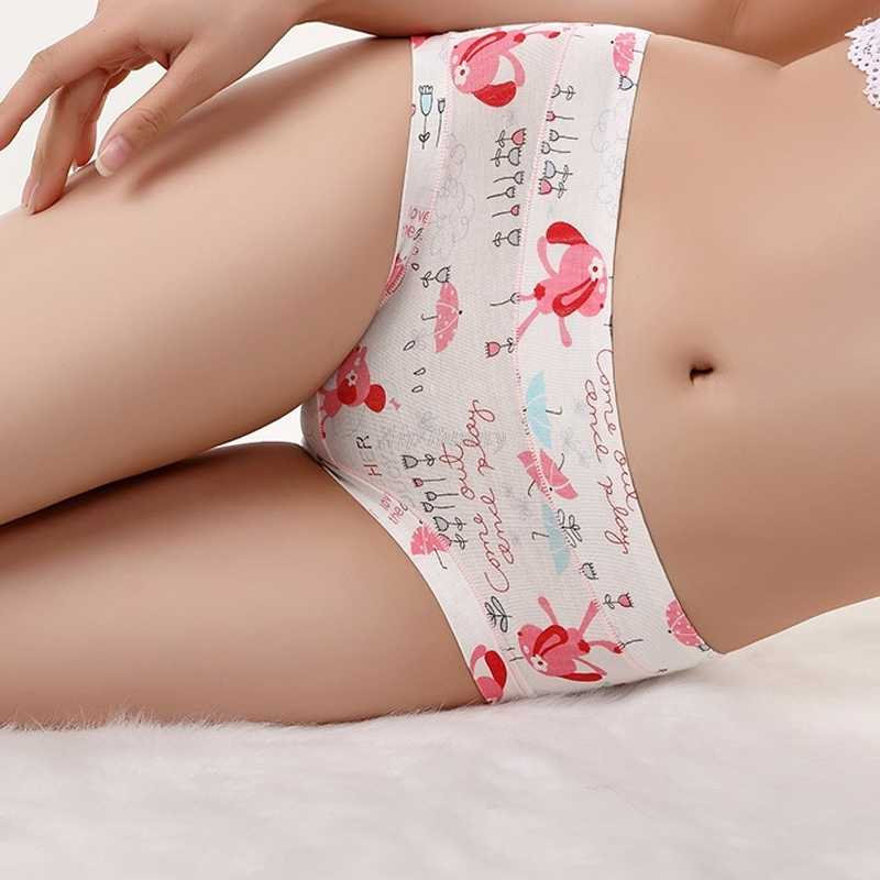 7da0a11c16bea ... Aip Bunny Animed Cartoon Women Panties Hips Push up Underwear Modal  Cotton Bearthable Cute Briefs Lingerie ...