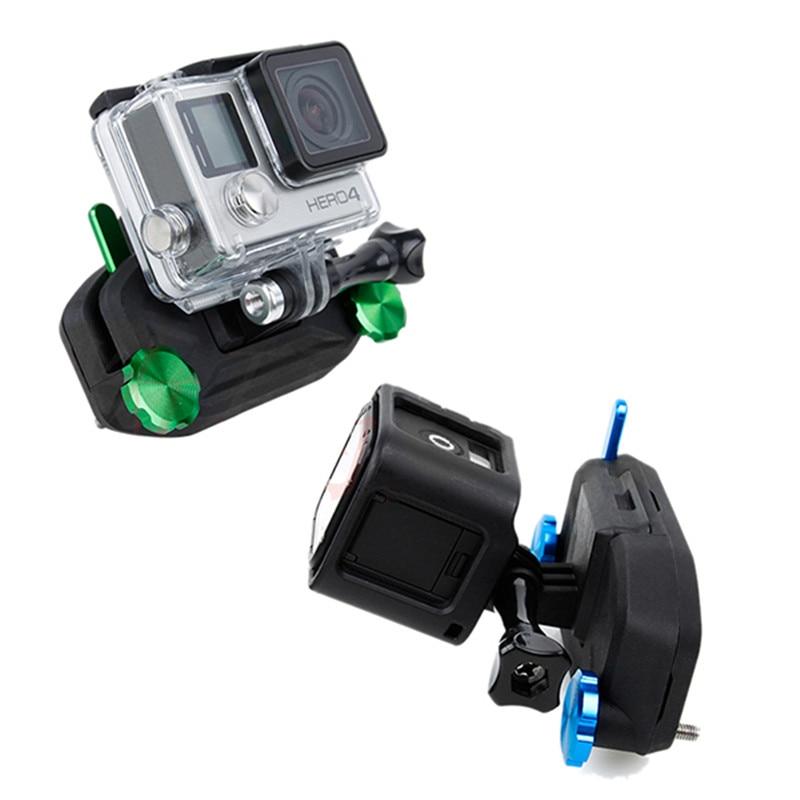 Sports Camera Clip for Gopro Hero 3/3+/4/5/6/Session/Xiaomi Yi/SJCAM Blue For Cam