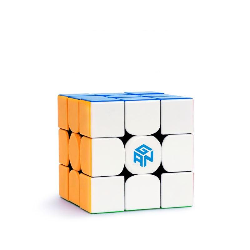 D'origine Gan354M 3x3x3 Magnétique puzzle magique Non Autocollant GAN 354 M 3x3 Vitesse jouet cube Professionnel éducatifs jouets pour enfants