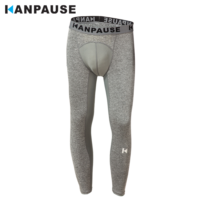 New Arrival  KANPAUSE Men's Tights Pants Running Pants Fitness Trainning & Exercise Pants Sportswear