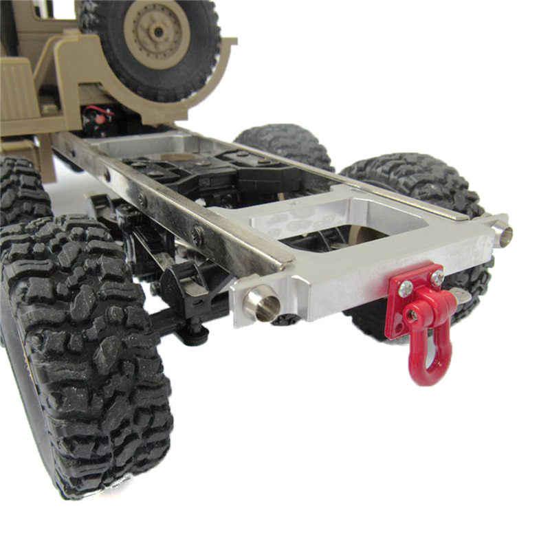 WPL 1 Pc Logam Tow Trailer Hitch Hook untuk WPL B14 B16 B24 1/16 RC Spare Part Mobil DIY Aksesoris