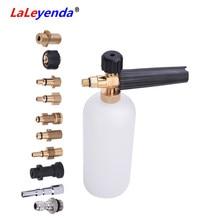 LaLeyenda myjka ciśnieniowa pianka śnieżna dysze generatora dla Karcher/LAVOR/intersko/Makita/parkside myjnia samochodowa Lance pistolet na mydło