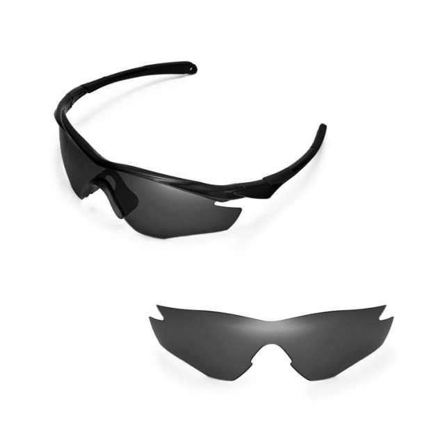 Walleva Polarized Replacement Lenses for Oakley M2 Frame Sunglasses ...