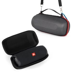 Image 2 - 2019 החדש EVA קשיח נשיאה נסיעות מקרי שקיות עבור JBL תשלום 4 Charge4 עמיד למים אלחוטי Bluetooth רמקול מקרי (עם חגורה)