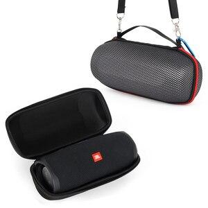 Image 2 - 2019 ใหม่ล่าสุด EVA กระเป๋าใส่กระเป๋าเดินทางกระเป๋าสำหรับ JBL Charge 4 Charge4 กันน้ำลำโพงไร้สายบลูทูธ (พร้อมเข็มขัด)