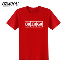 Bazinga Periodic Table T-shirt – 9 Colors