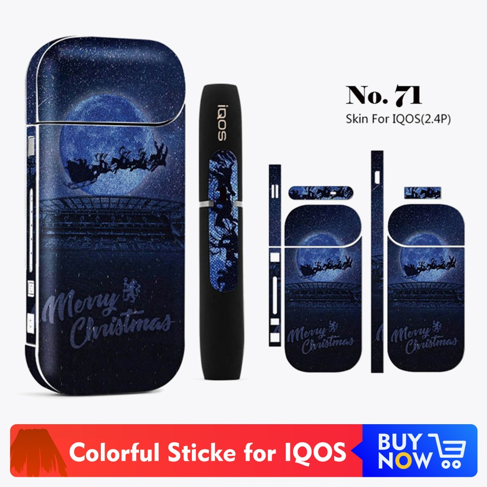 Cool Design Protective <font><b>Sticker</b></font> for <font><b>IQOS</b></font> 2.4 Plus Skin Cover Sleeve <font><b>Sticker</b></font> Hot Sale <font><b>IQOS</b></font> Decal <font><b>Sticker</b></font> image