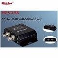 HSV198 1080 P SDI в HDMI конвертер с SDI loop out BNC разъем SD/HD/3G-SDI в HDMI