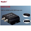 HSV198 1080P SDI to HDMI converter with SDI loop out BNC connector SD/HD/3G-SDI to HDMI