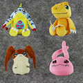 4 Styles 27-52cm Digimon Adventure Plush Toy Agumon Gabumon Patamon Koromon Soft Stuffed Doll for Kids